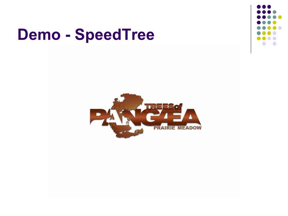 Demo - SpeedTree