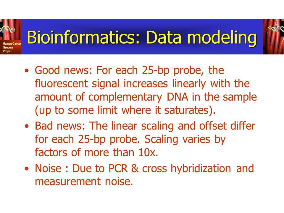 Bioinformatics: Data modeling