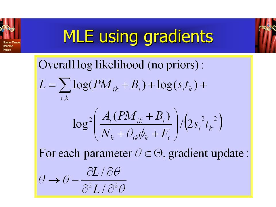 MLE using gradients