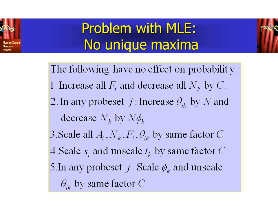 Problem with MLE: No unique maxima