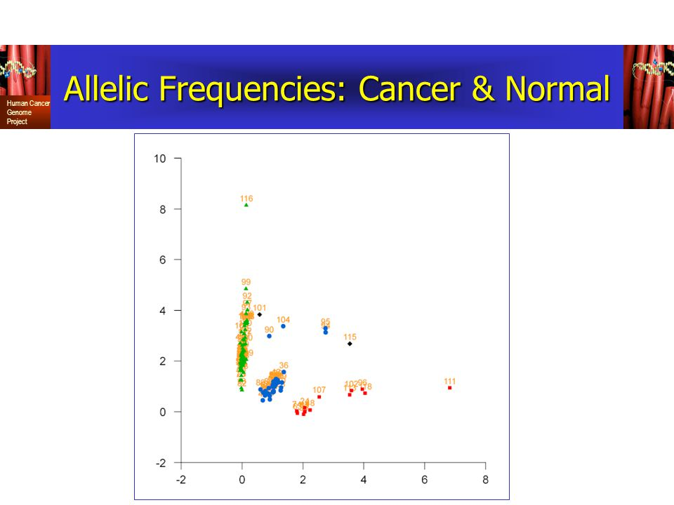Allelic Frequencies: Cancer & Normal