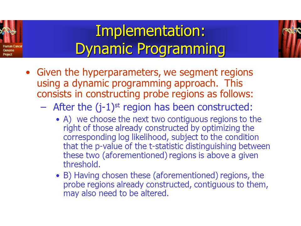 Implementation: Dynamic Programming