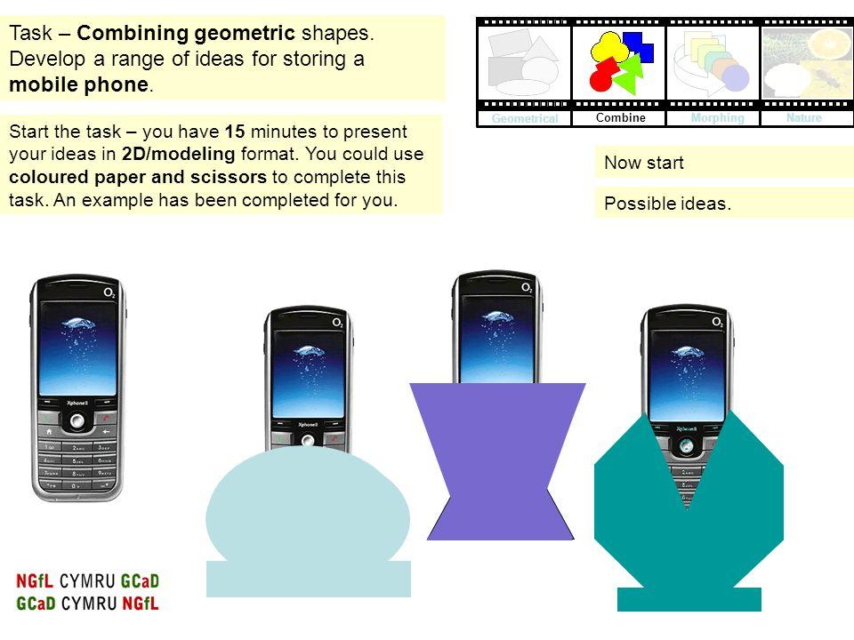 Task – Combining geometric shapes