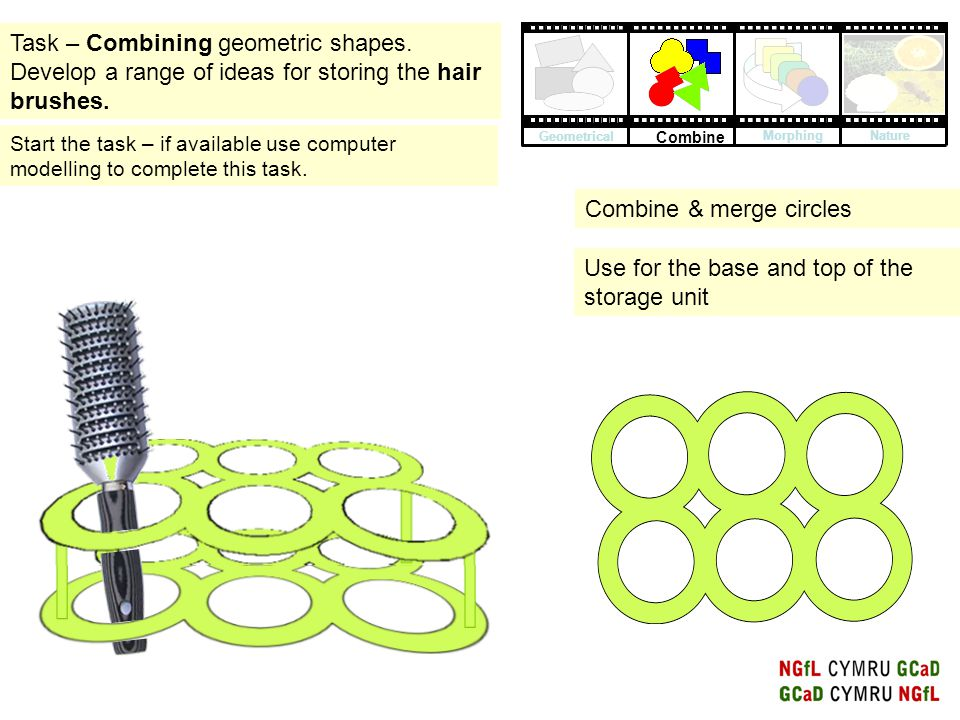 Combine & merge circles