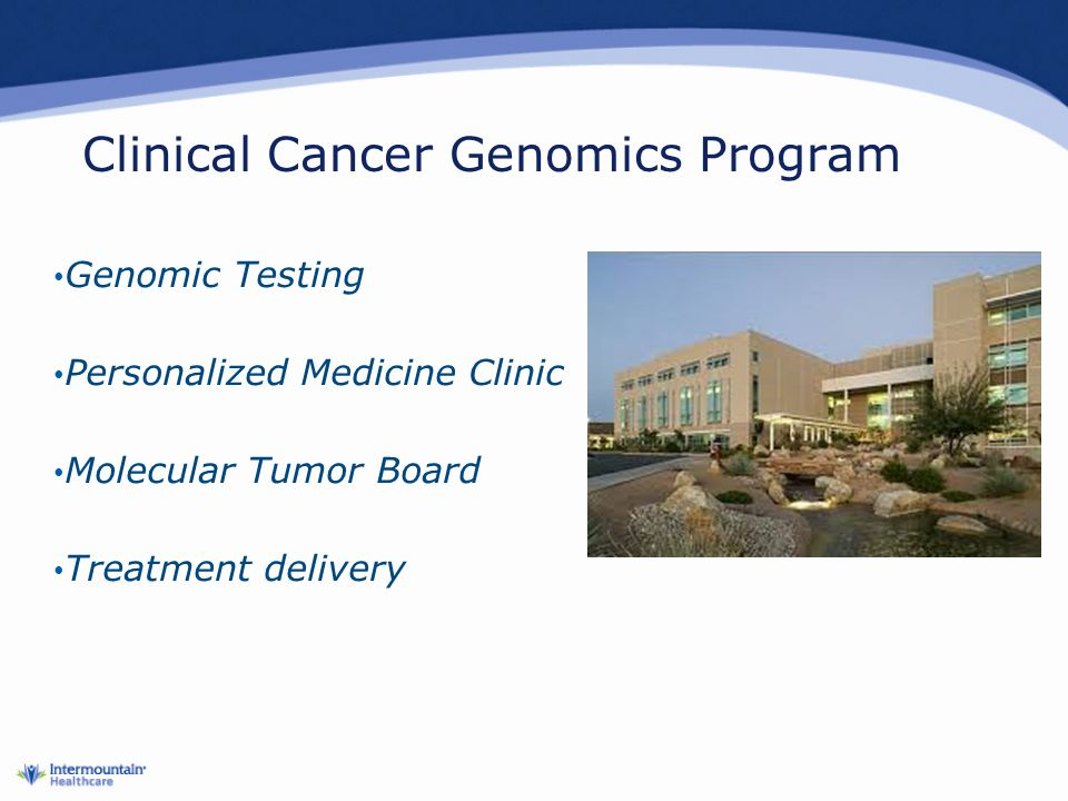 Clinical Cancer Genomics Program