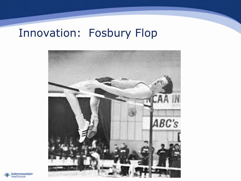 Innovation: Fosbury Flop