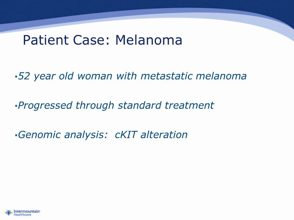 Patient Case: Melanoma