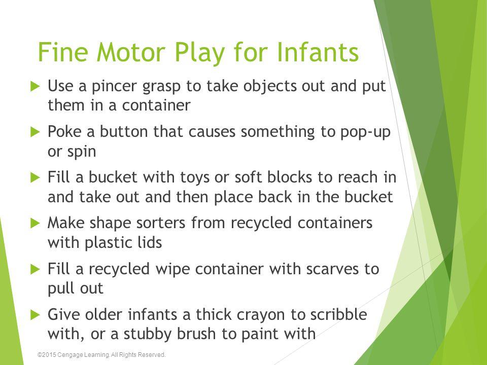 Fine Motor Play for Infants