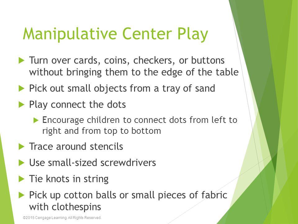 Manipulative Center Play