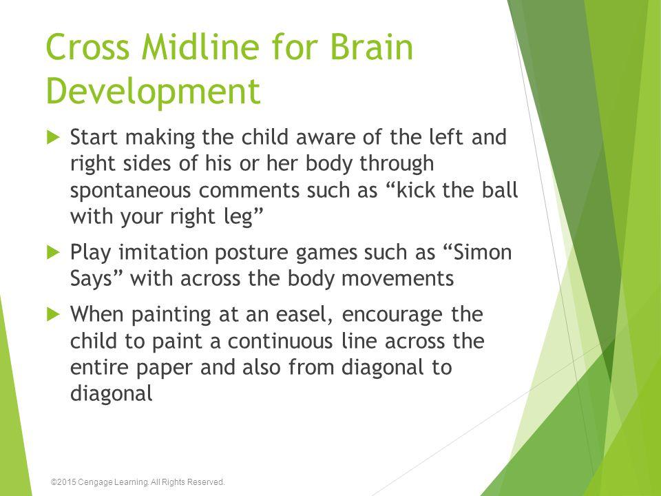 Cross Midline for Brain Development