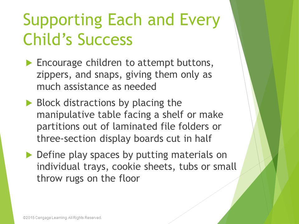 Supporting Each and Every Child's Success