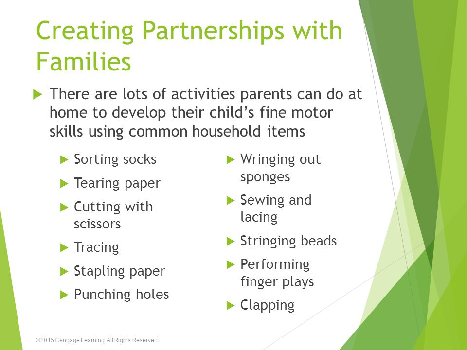 Creating Partnerships with Families