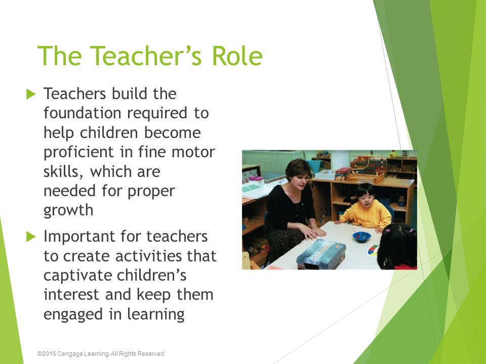 The Teacher's Role