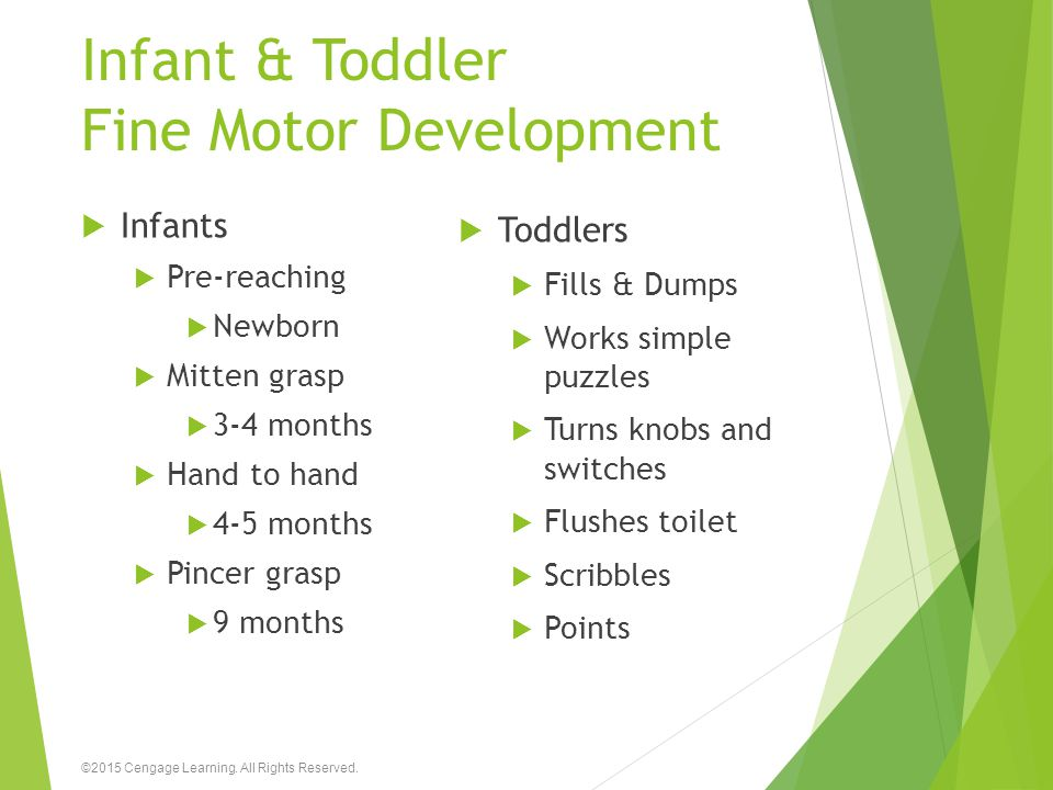 Infant & Toddler Fine Motor Development