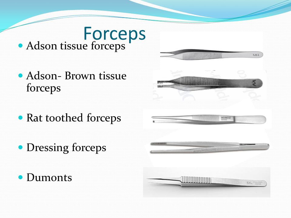Forceps Adson tissue forceps Adson- Brown tissue forceps
