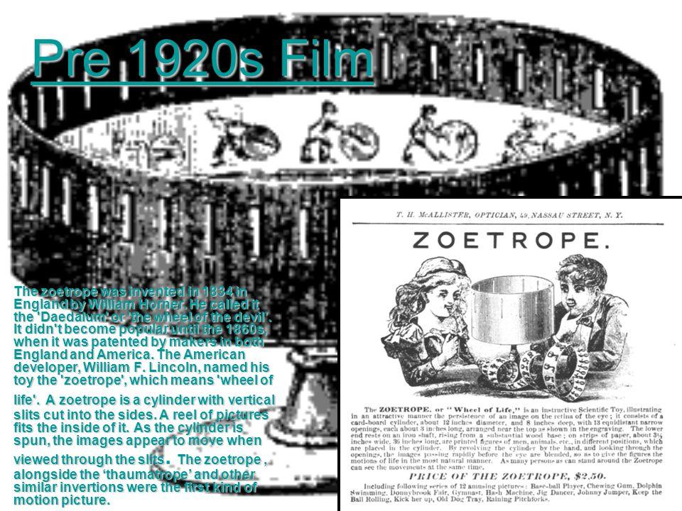 Pre 1920s Film