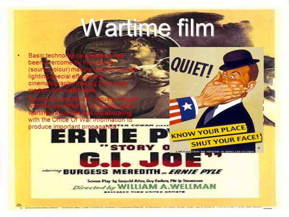 Wartime film