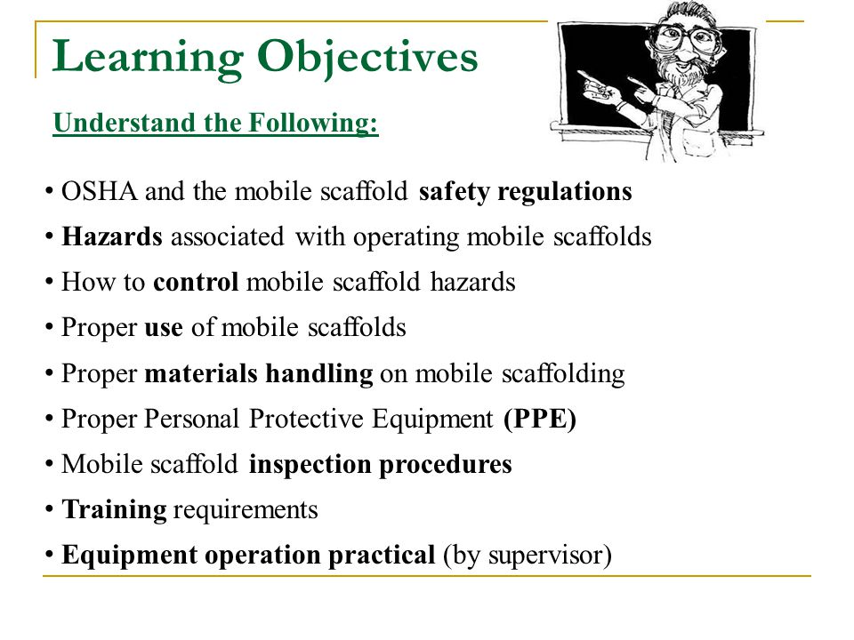 Learning Objectives Understand the Following:
