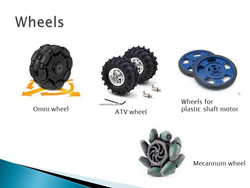 Wheels Wheels for plastic shaft motor Omni wheel ATV wheel