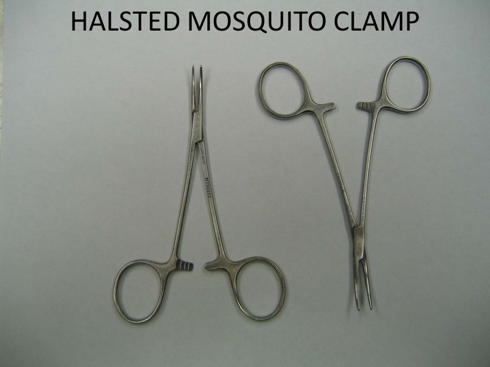 HALSTED MOSQUITO CLAMP