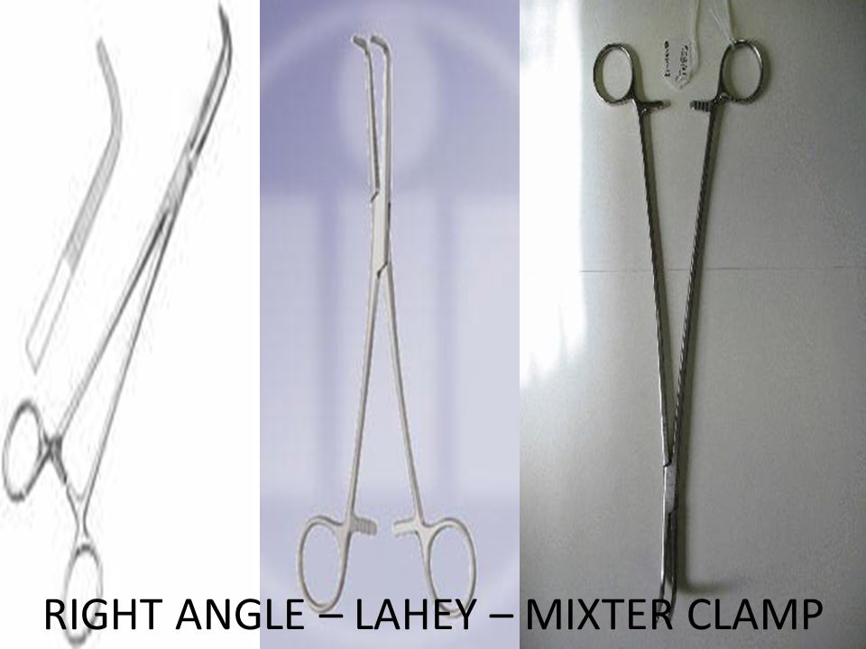 RIGHT ANGLE – LAHEY – MIXTER CLAMP