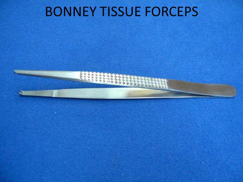 BONNEY TISSUE FORCEPS