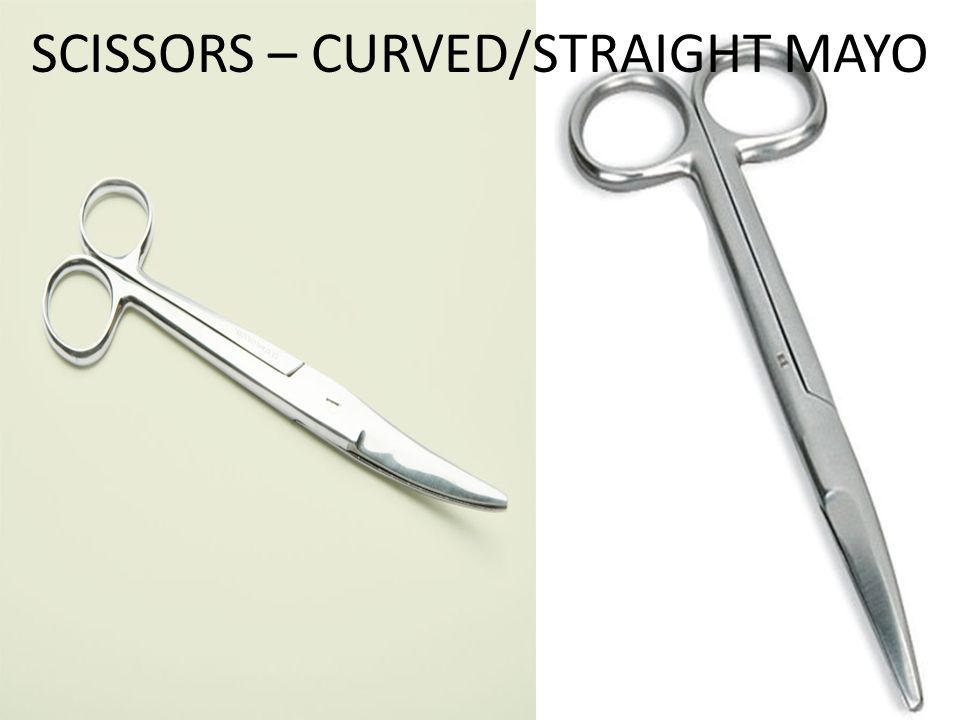 SCISSORS – CURVED/STRAIGHT MAYO