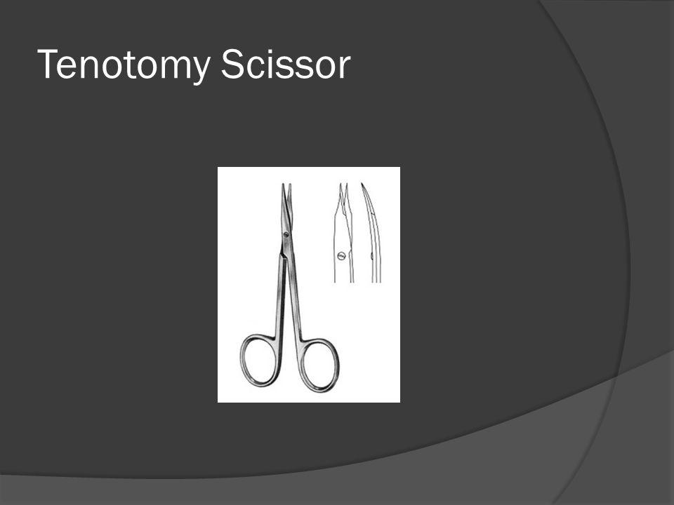 Tenotomy Scissor
