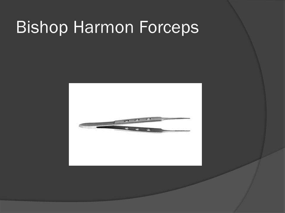 Bishop Harmon Forceps