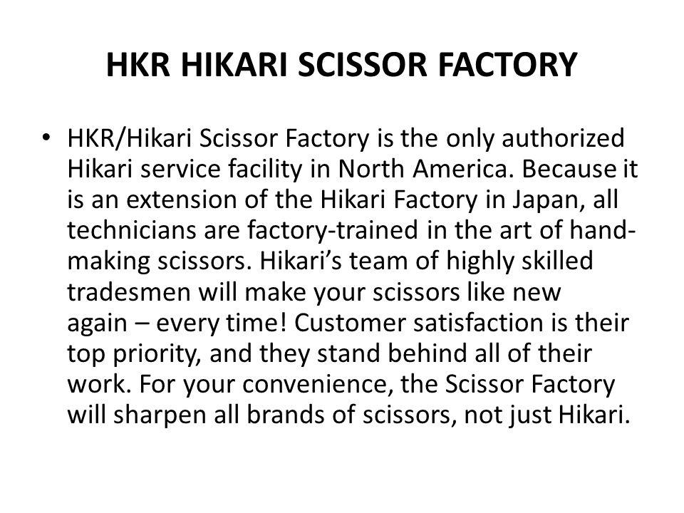 HKR HIKARI SCISSOR FACTORY