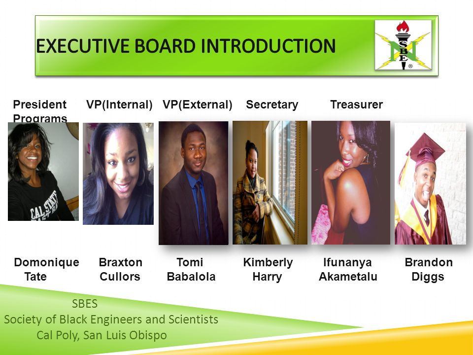 Executive Board Introduction