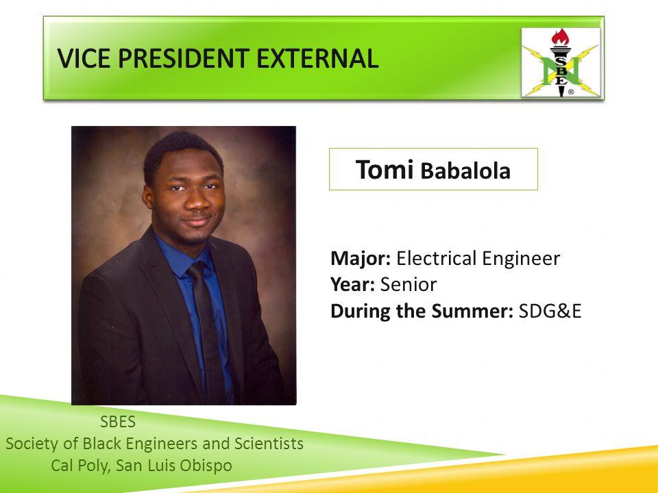 Vice President external