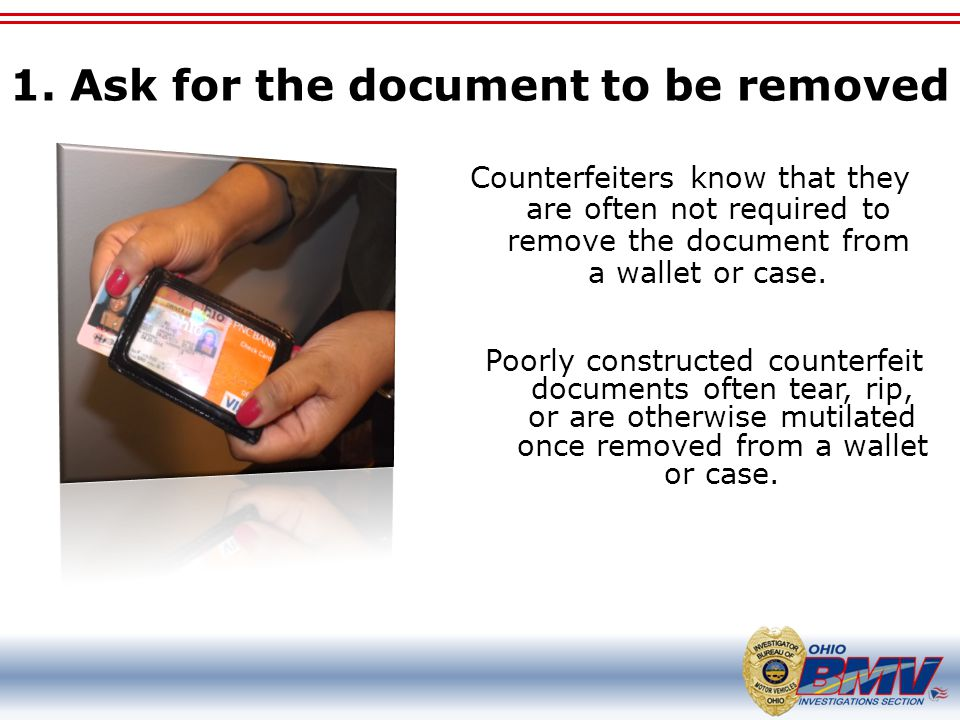 1. Ask for the document to be removed