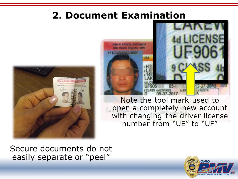 Secure documents do not easily separate or peel