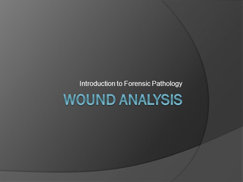 Introduction to Forensic Pathology