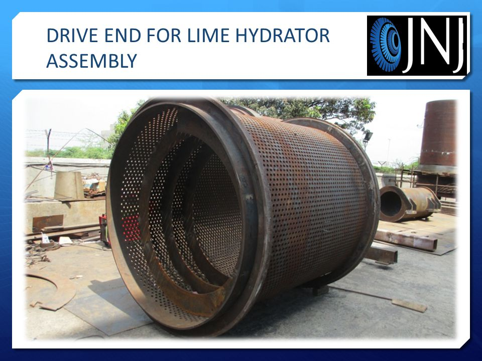 DRIVE END FOR LIME HYDRATOR ASSEMBLY