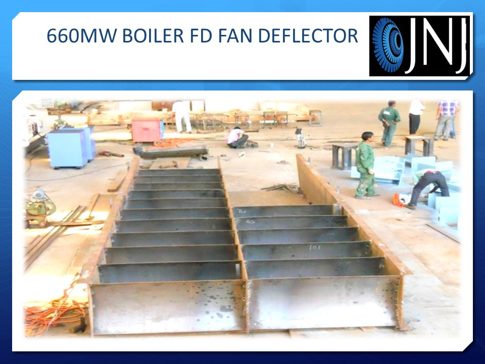 660MW BOILER FD FAN DEFLECTOR