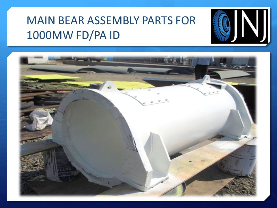 MAIN BEAR ASSEMBLY PARTS FOR 1000MW FD/PA ID