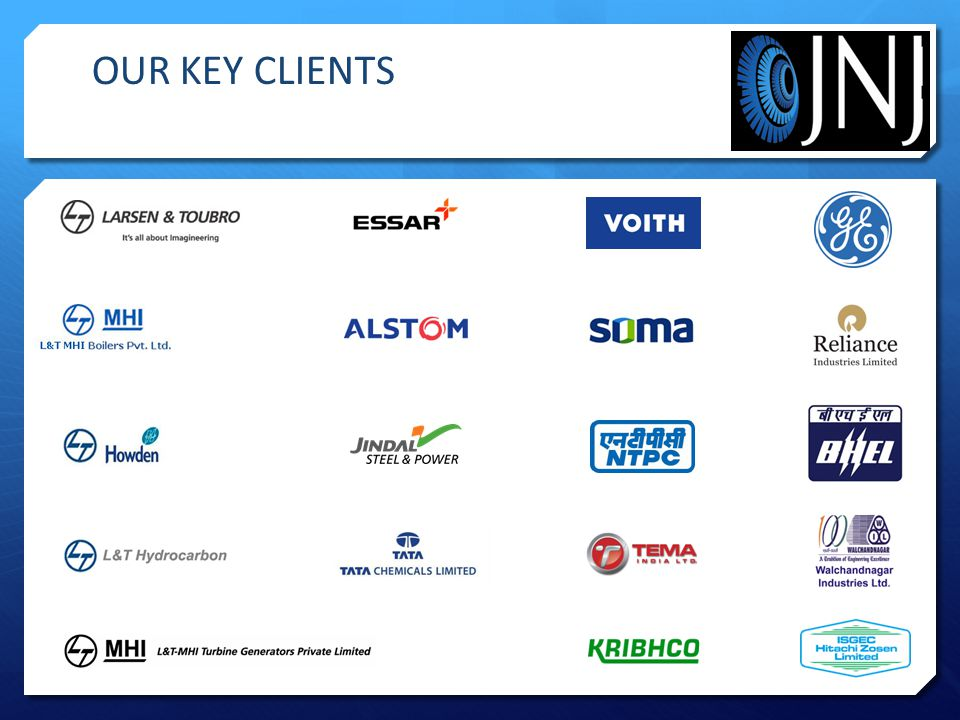 OUR KEY CLIENTS