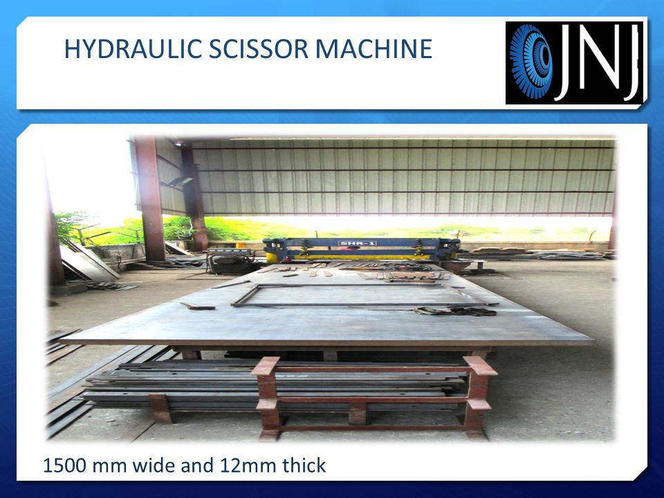 HYDRAULIC SCISSOR MACHINE