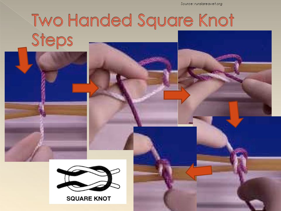 Two Handed Square Knot Steps