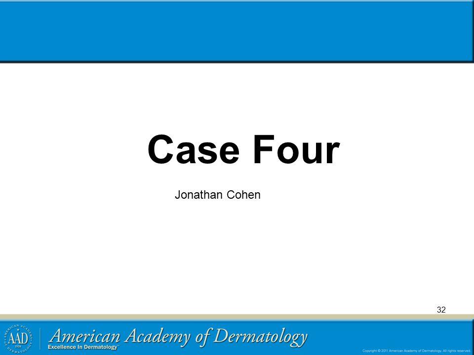 Case Four Jonathan Cohen