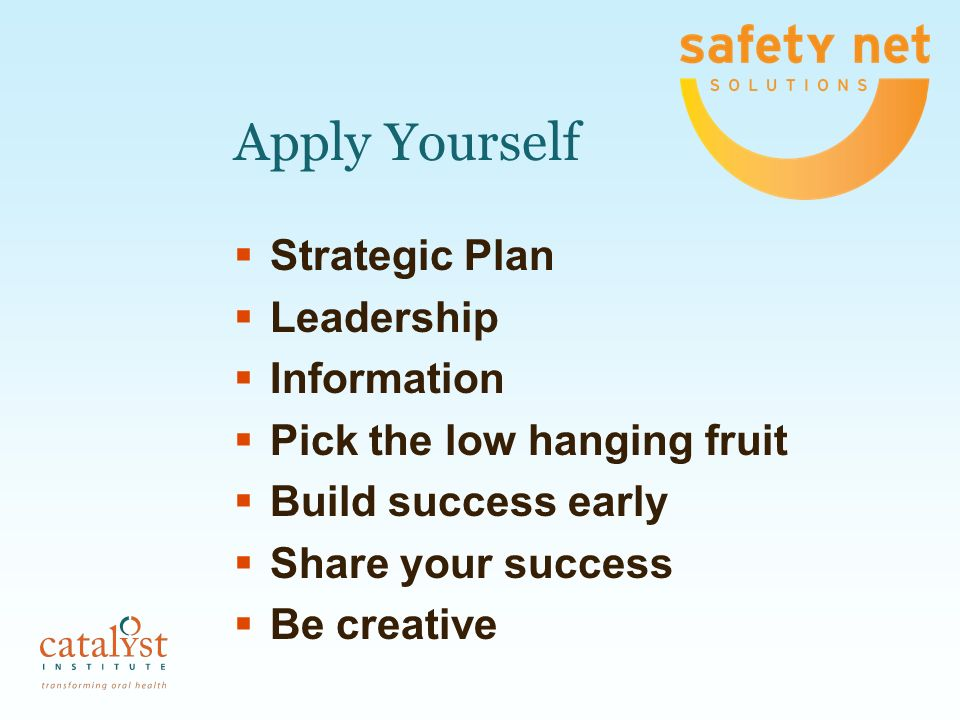 Apply Yourself Strategic Plan Leadership Information