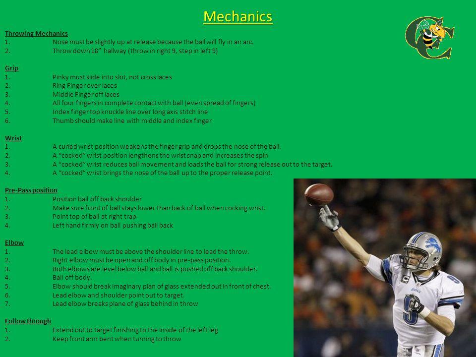 Mechanics Throwing Mechanics