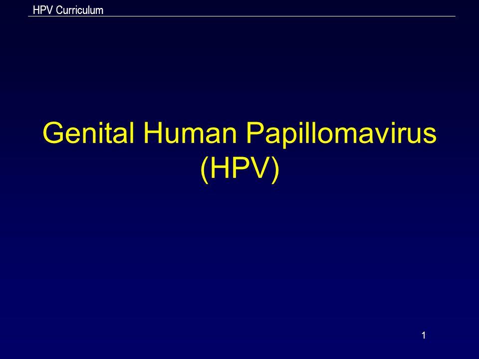 Genital Human Papillomavirus (HPV)