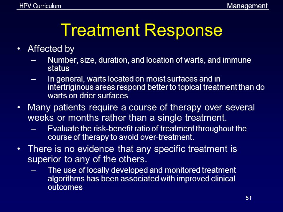 Treatment Response Affected by