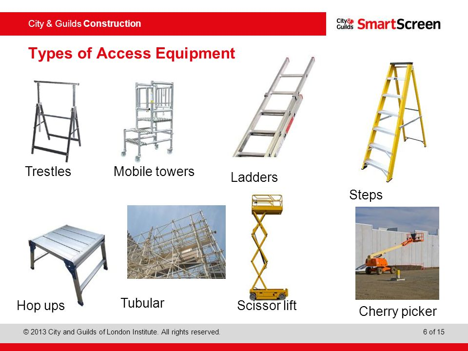 Types of Access Equipment