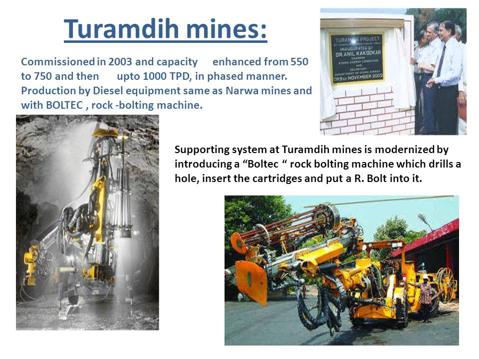 Turamdih mines: