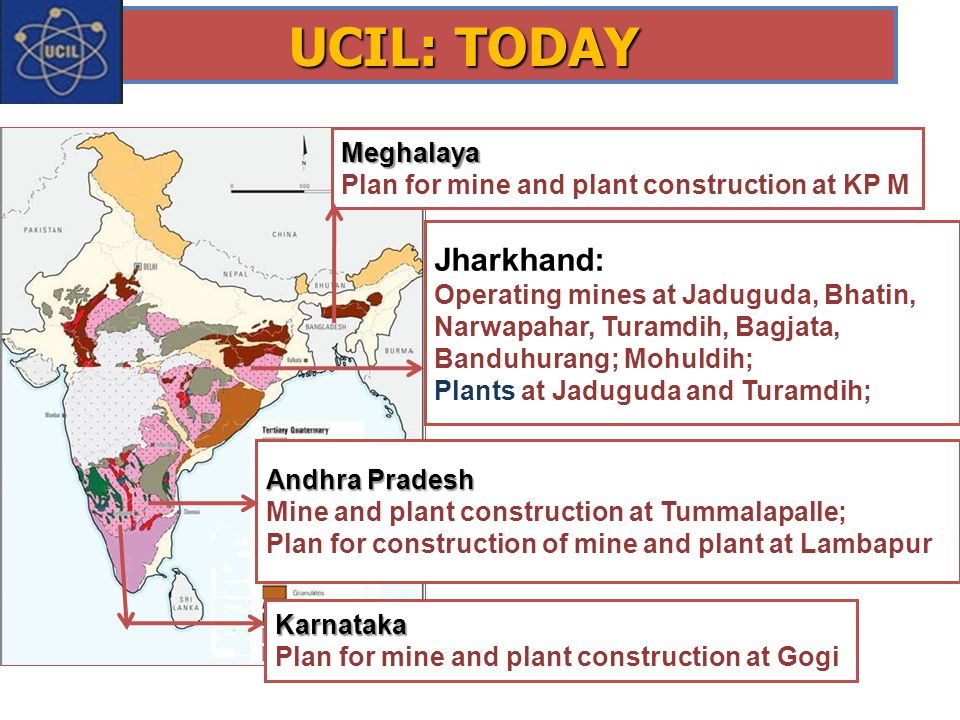 UCIL: TODAY Jharkhand: Meghalaya