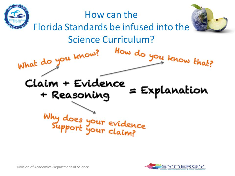 How can the Florida Standards be infused into the Science Curriculum